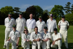 Back Row;Simeon Green, Paul Wastell, Nick Kent, John Inman (Captain), Ian Bandy, Mark KingFront row; Matt Inman, Jerome Green, Thomas Wornham, Paul Heath, Amajit Singh